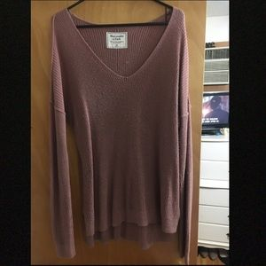 Abercrombie & Fitch Lightweight V-neck Sweater